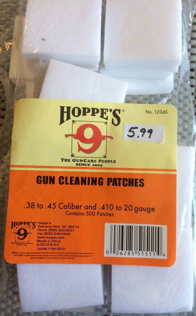 Hoppes 38-45 and 410-20ga patches 500 1204S