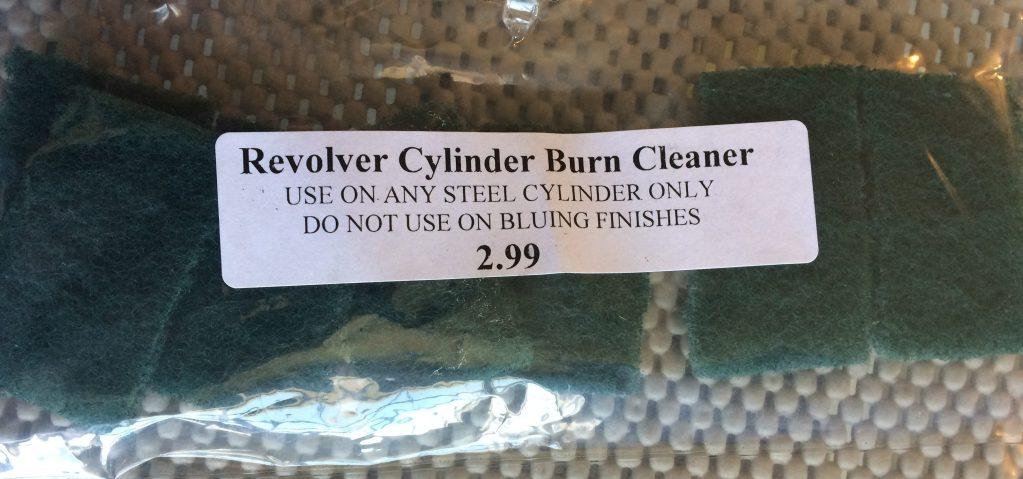 Revolver Cylinder Burn Cleaner 7 Pack – Pistol Cleaning