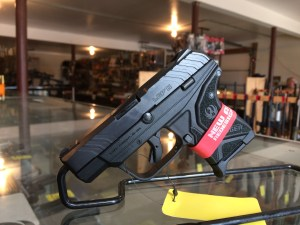 Ruger 3750 LCP II Single 380 Automatic Colt Pistol (ACP) 2.75 6+1 FS Black Poly GripFrame Blued (2)