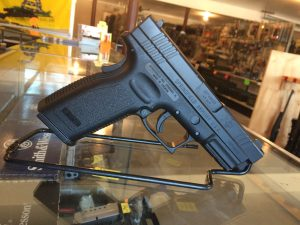 "Springfield XD9611HC XD Essential Pkg DAO 45ACP 4"" 13+1 Poly Grip/Frame Blk - UPC 706397897796"