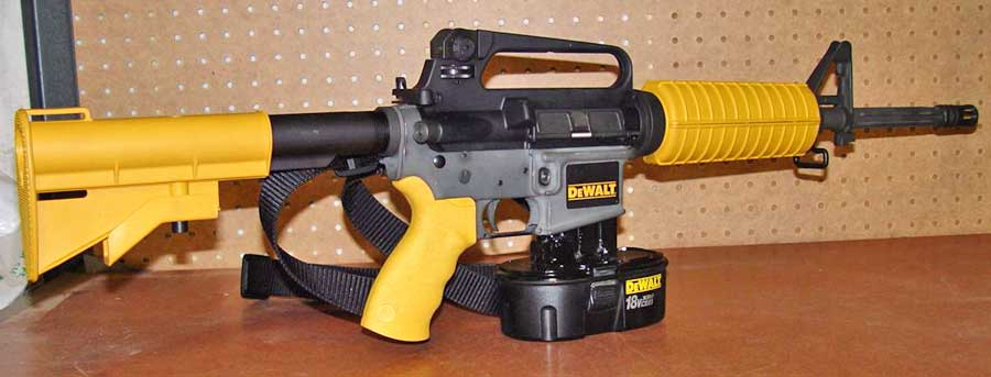 DeWalt AR-15 Nail Gun | Information, Photos, Price & More