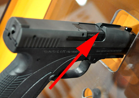 Caracal quick sights