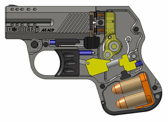 Heizer DoubleTap cutaway