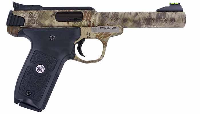 SW22 Victory Camo pistol