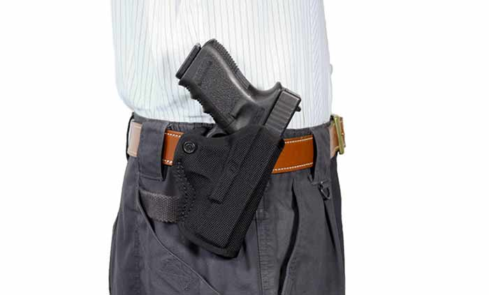 DeSantis Nylon Holster for Glock 19