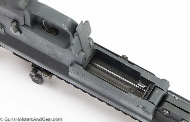 damaged finish on Mk47 rifle