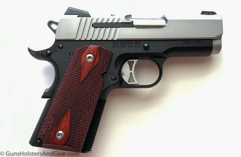review of the SIG 1911 Traditional Ultra 9mm pistol