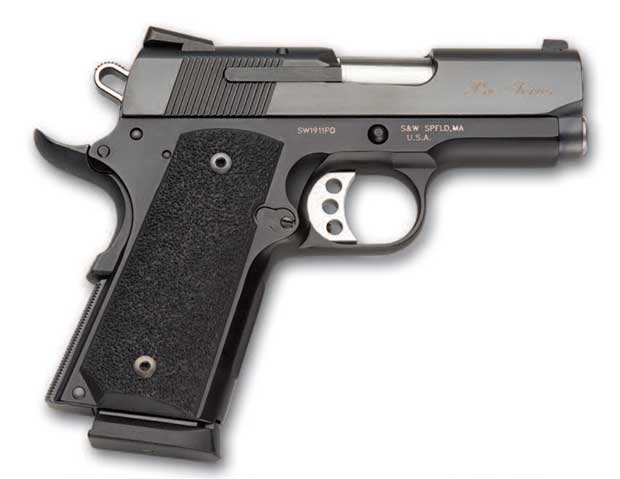 Smith and Wesson SW1911 subcompact