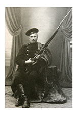 soldier with mosin nagant