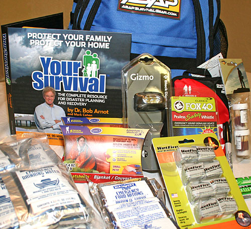 ASAP Kickstart bug out bag