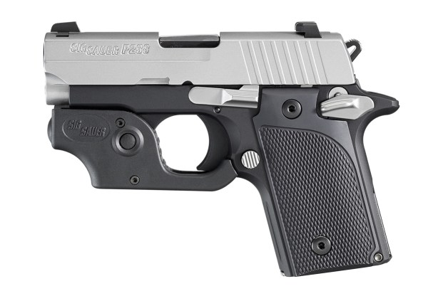 Current SIG P238 Tactical Laser