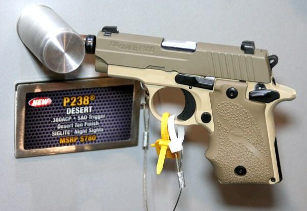 SIG P238 Desert