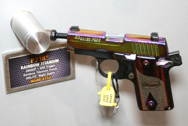SIG P238 Rainbow