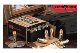 Hornady Critical Defense Ammunition: For Concealed Carry