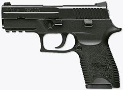New SIG P250 Pistol at IACP Convention