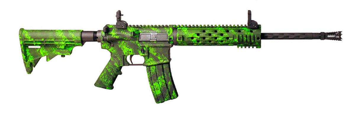 Boyds Custom Green Paint