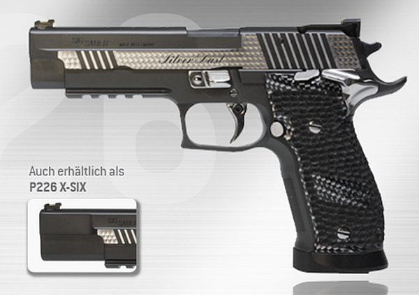 SIG P226 X-Five Silver Dust