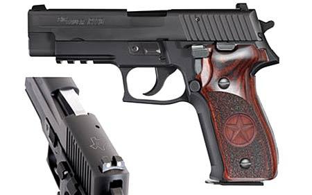 SIG P226 Lone Star