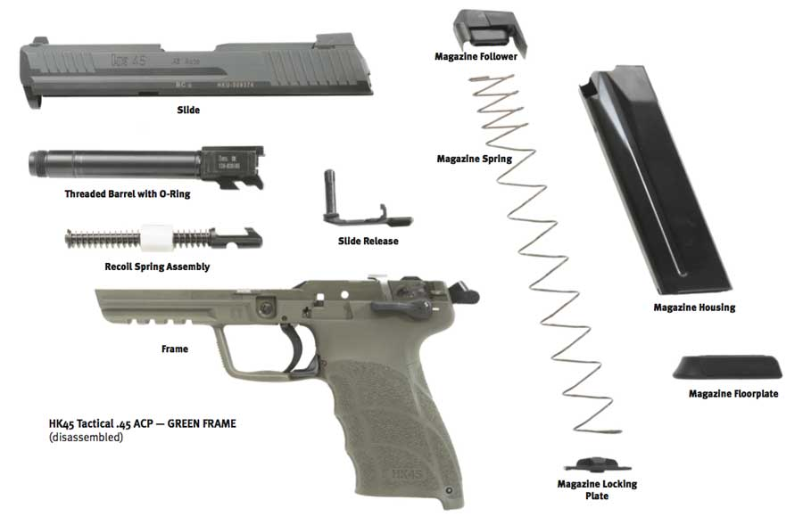 HK Tactical assembly