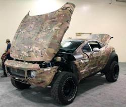 MultiCam Rally Fighter at the SHOT Show