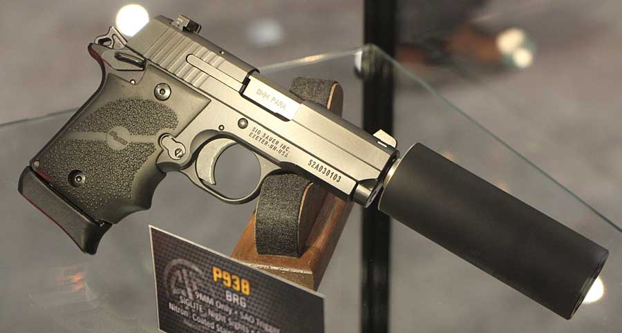 SIG P938 silencer