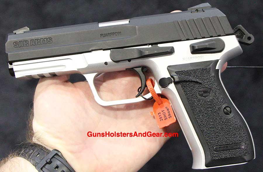 Sarsilmaz SAR ST10 Pistol - Turkish Duty Gun at SHOT Show