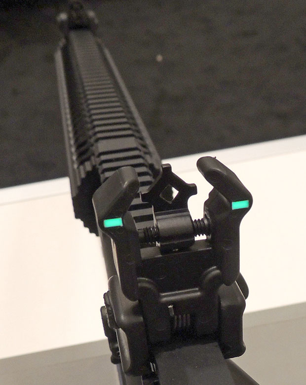 Diamondhead polymer rear sight