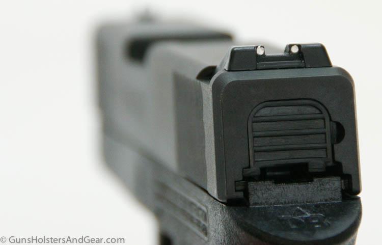 DB9 rear sight