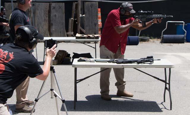 shooting a shooter shooting