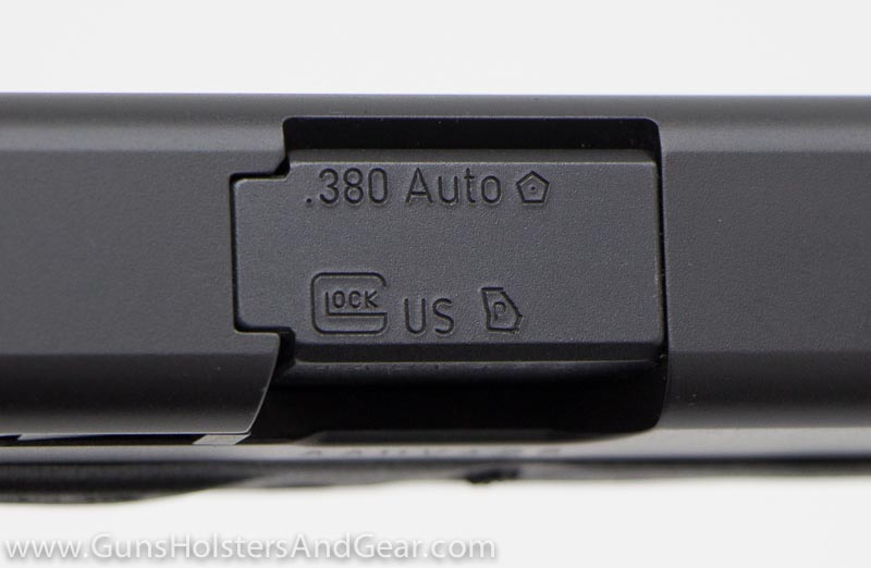 Georgia Proof Mark on a Glock 42
