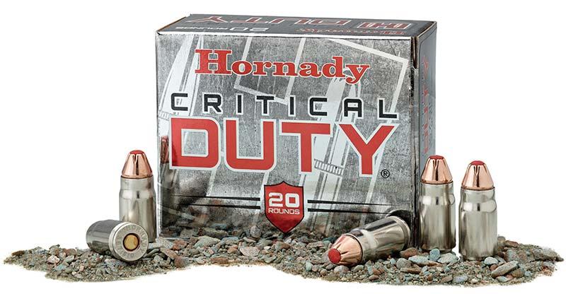 357 SIG ammo Critical Duty
