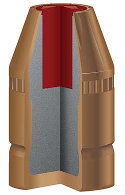 FlexLock bullet cutaway