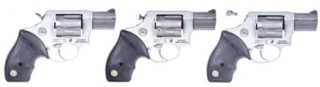 Convertible Taurus 85 Revolver
