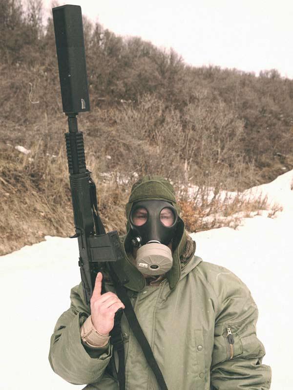 Saiga-12 suppressor