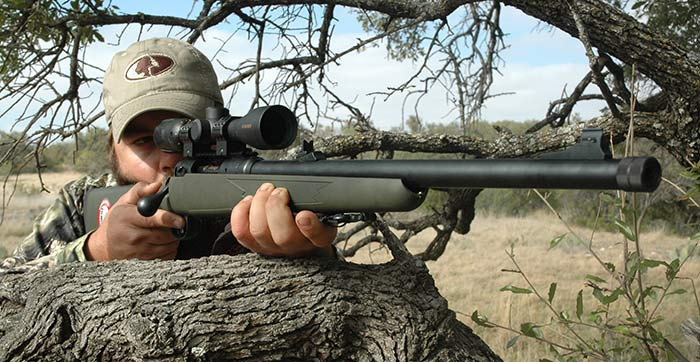 Savage Rifle in 338 Federal