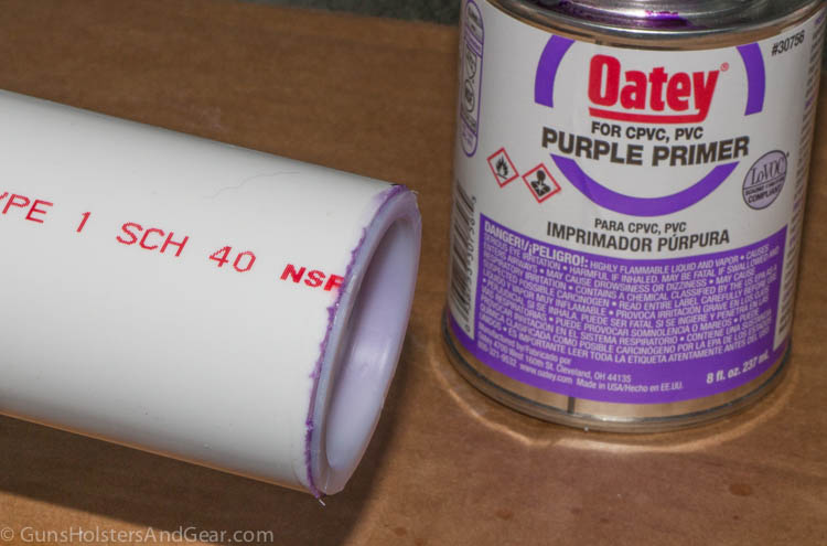 purple pvc primer