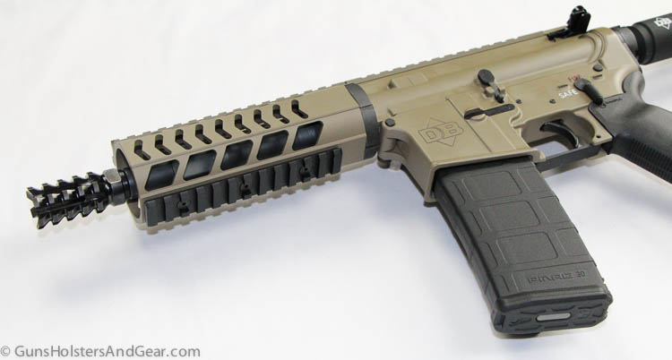 DB15 pistol forend
