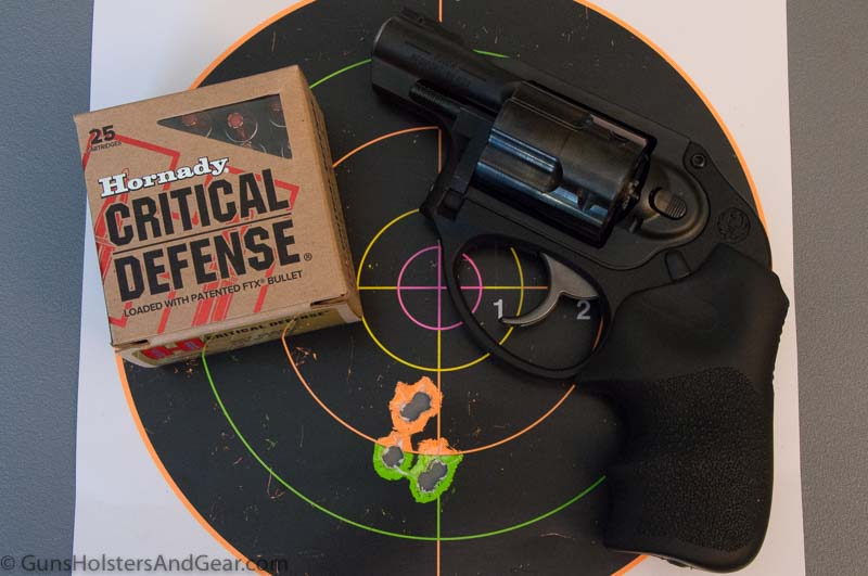 Critical Defense Accuracy Ruger LCR