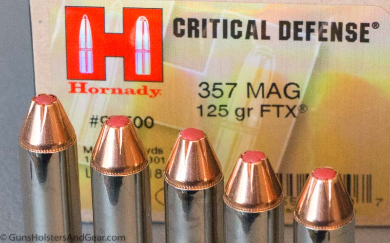 Hornady's  357 Magnum Critical Defense Load - Quick Ammo Review