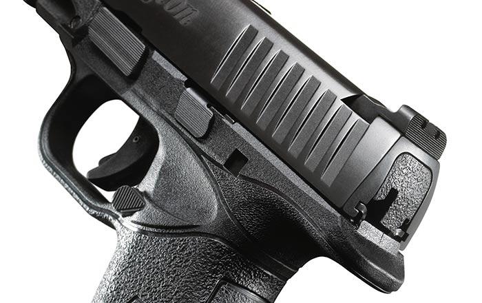 Remington RP45 rear sight