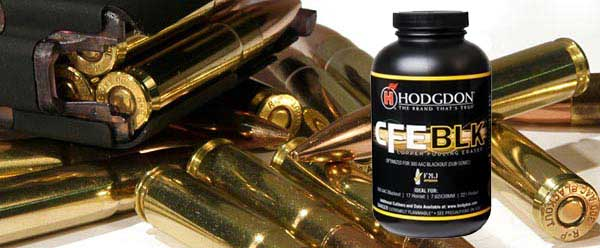 New 300 BLK Powder from Hodgdon