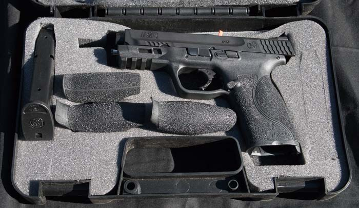 S&W M&P 2.0 at Industry Day