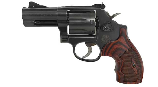 Smith and Wesson 586 L-Comp