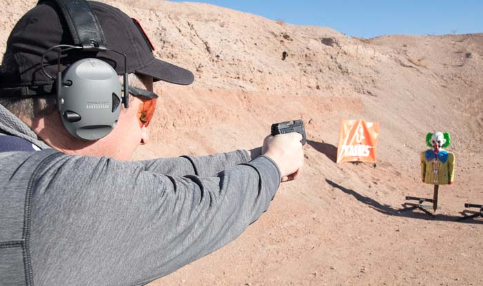 shooting the updated Taurus Curve