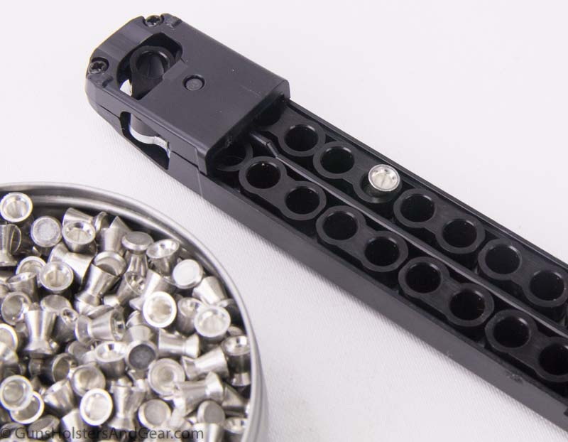SIG P320 air gun magazine and pellets