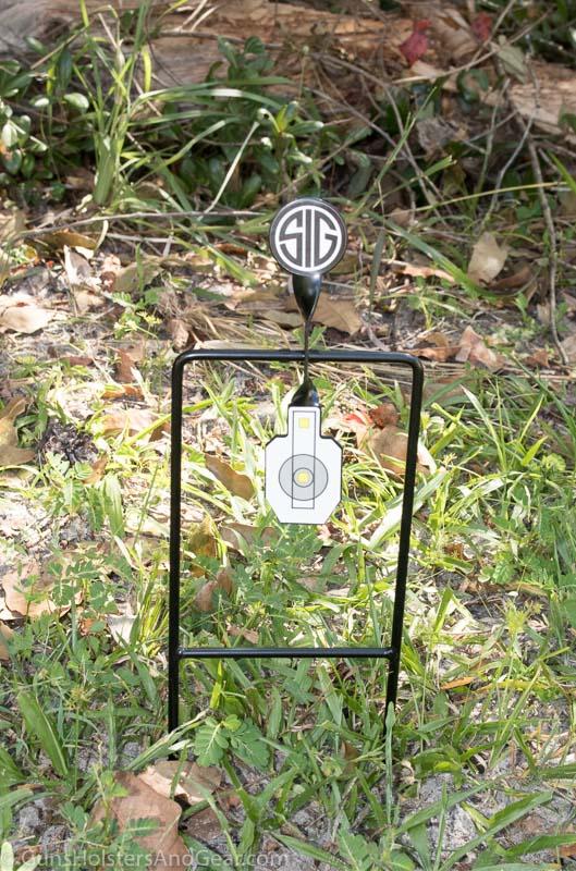 Airgun Target metal spinner
