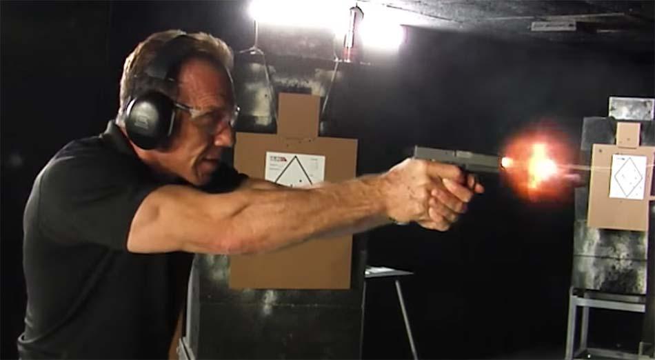 SS80 Glock 43 frame complete gun shooting