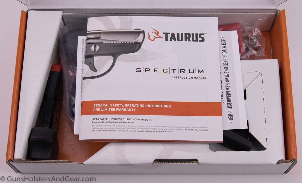 Taurus Spectrum Review