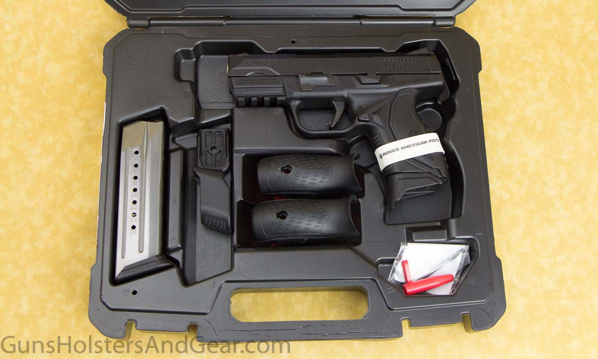 Presentation of the Ruger American Pistol Compact