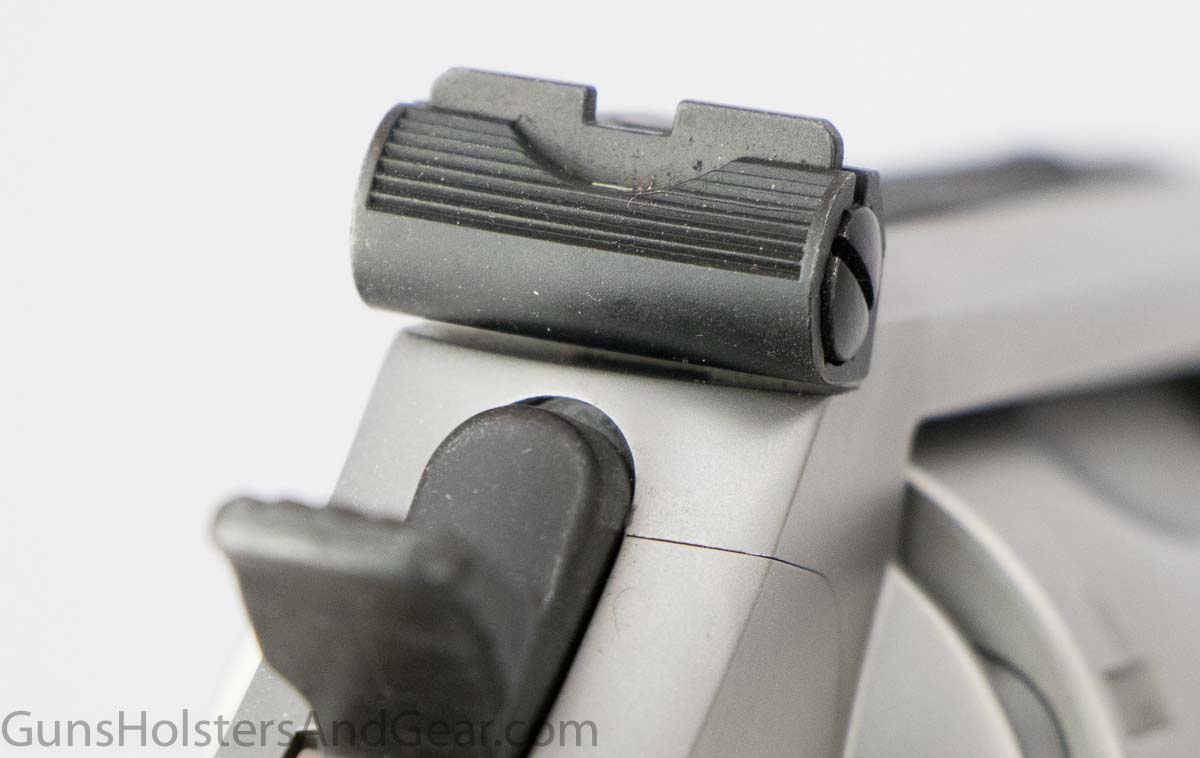 Rear Sight on Smith Wesson Model 66